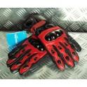 Rękawice 1256 czerwone