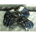 Rękawice 1254 biało-niebieskie