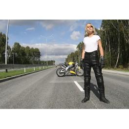 SPODNIE MOTOCYKLOWE MTTR BLACK QUEEN