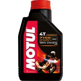 Olej silnikowy, syntetyczny MOTUL Double Ester 7100 4T 20W50 4L