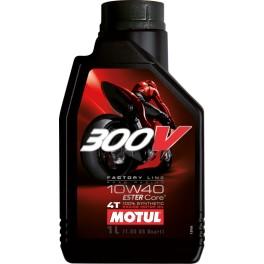 Olej silnikowy syntetyczny Motul 300V Factory Line 4T 10W40 1L